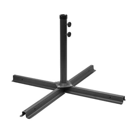Pro Heavy Duty Patio Umbrella Cross Brace Stand