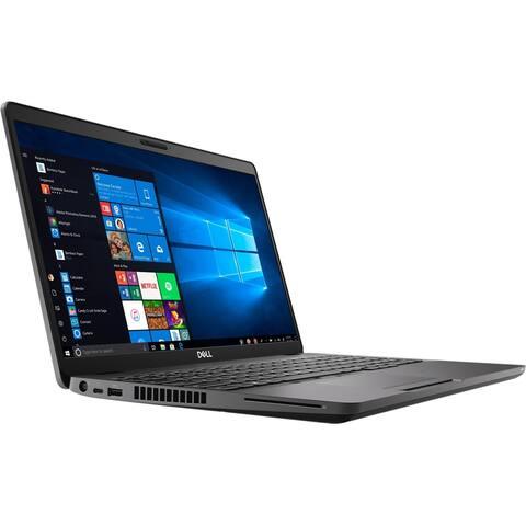 """Dell Latitude 5500 Intel Core i3-8145U X2 3.9GHz 8GB 256GB SSD 15.6"""" Win10,Black"""