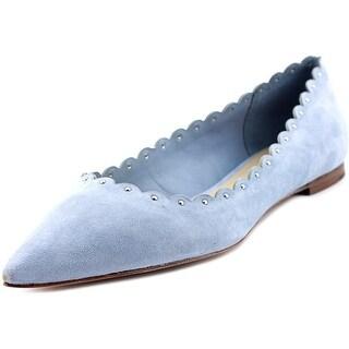 Coach Jill Soft Shine Women  Pointed Toe Suede  Flats