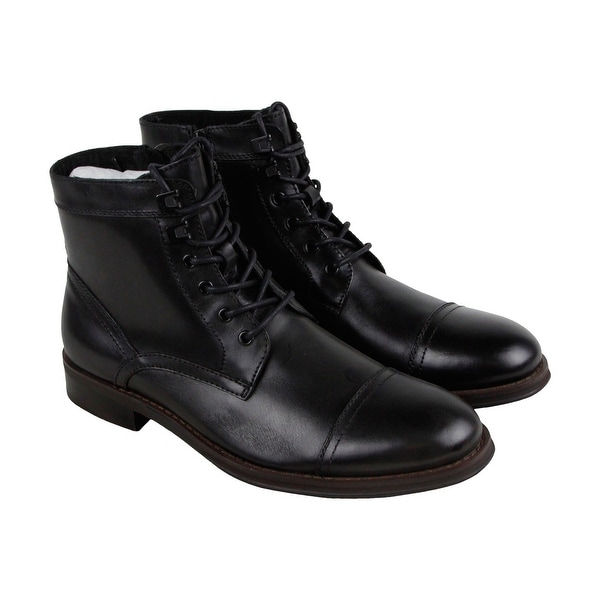 Kenneth Cole New York Design 104352 Mens Black Casual Dress Boots Shoes