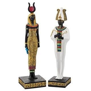 Osiris And Hathor Deities Of Ancient Egypt Statues Design Toscano Gods