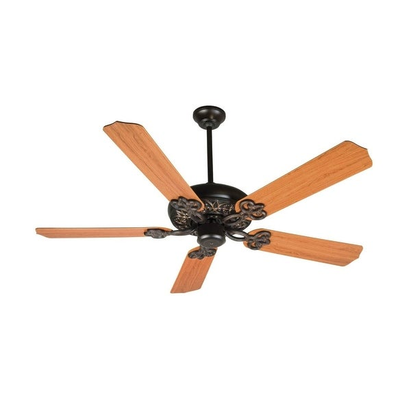 """Craftmade K10437 Cecilia 52"""" 5 Blade Energy Star Indoor Ceiling Fan - Blades Included - oiled bronze gilded"""