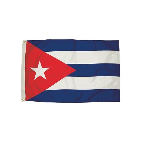 Independence flag 3x5 nylon cuba flag heading & 3482051