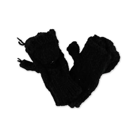 Aeropostale Womens Convertible Knit Mitten Gloves - One Size