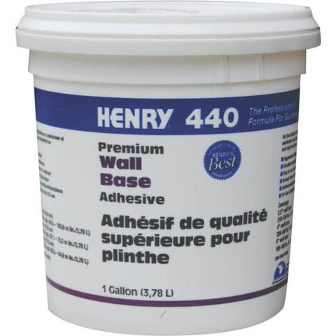 Henry 440-044 Cove Base Adhesive, Gallon