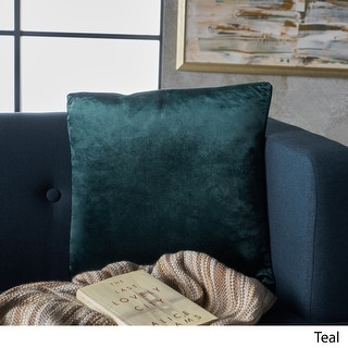 Link to Ippolito New Velvet Pillow by Christopher Knight Home Similar Items in Decorative Accessories