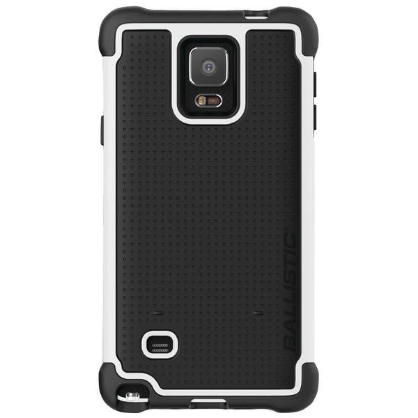Ballistic Tough Jacket Case for Samsung Galaxy Note 4 (Black/White) - TJ1491-A08