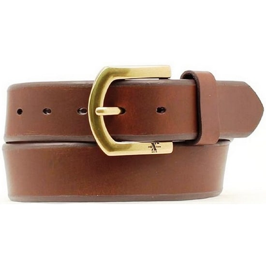 Nocona Western Belt Mens Leather HD Extreme Basic Mocha