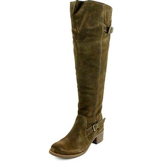 Matisse Finnley Pointed Toe Suede Over the Knee Boot