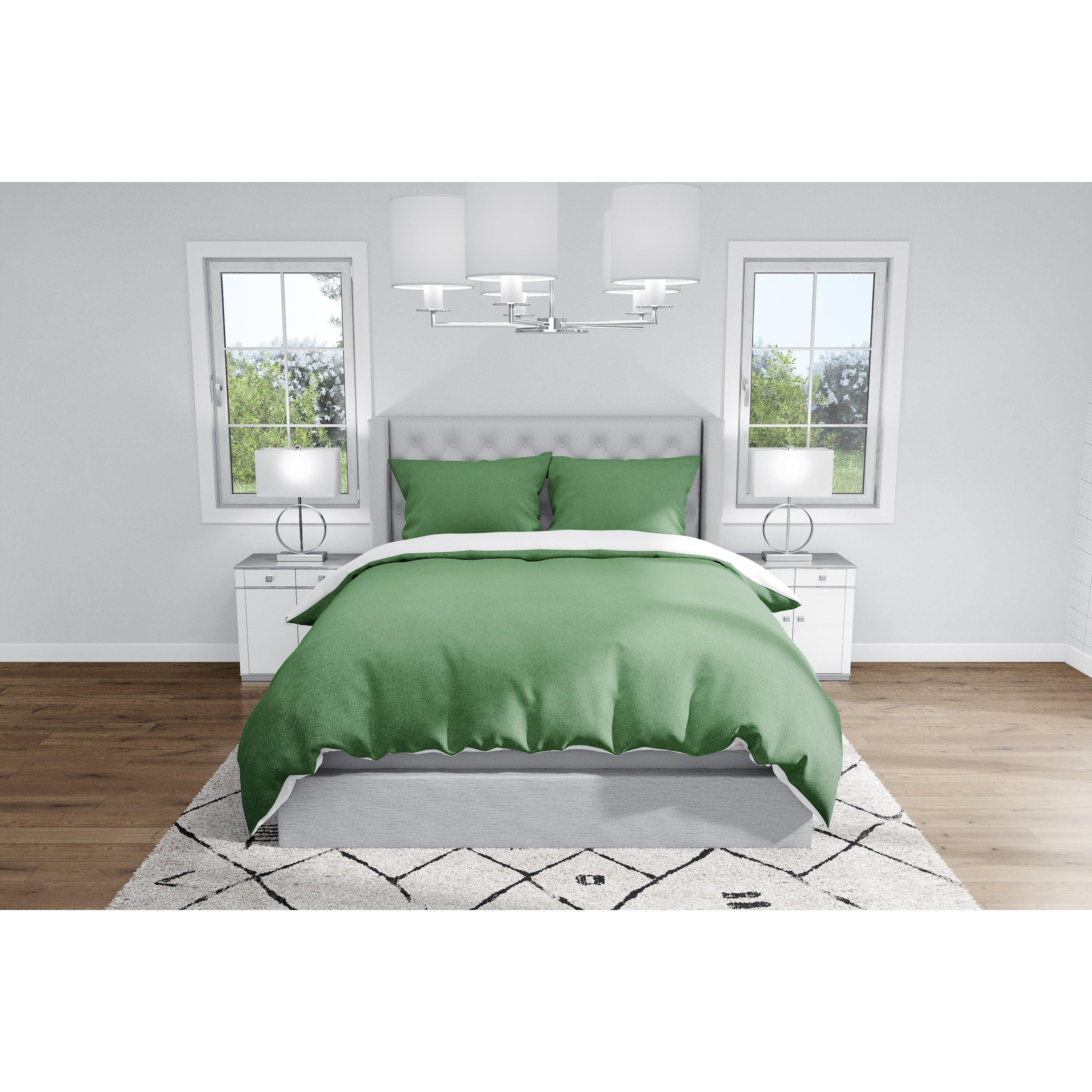 Ombre Emerald Duvet Cover By Kavka Designs On Sale Overstock 32092595