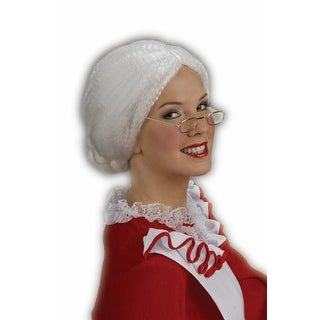 Mrs. Santa Claus Christmas Adult Costume Wig