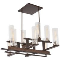 """Minka Lavery 4609 Maddox Roe 10 Light 16-1/2"""" Wide Taper Candle Chandelier with"""