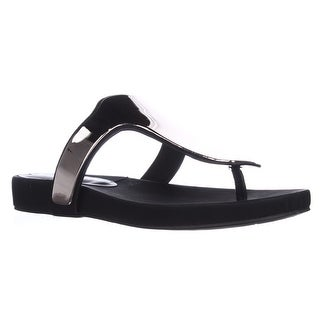 BCBGeneration Triumph T-Strap Thong Sandals - Black