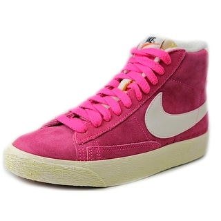 Nike Wmns Blazer Mid Suede Vntg Round Toe Suede Sneakers