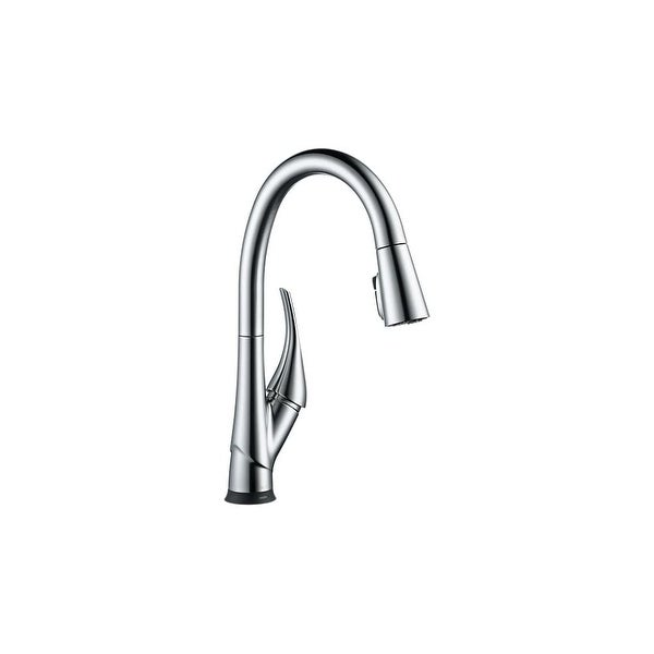 Shop Delta 9181t Dst Esque Pull Down Spray Kitchen Faucet With On