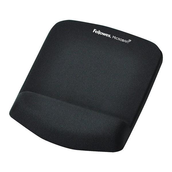 Fellowes 9252001 Plushtouch Mouse Pad/Wrist Rest With Foamfusion Technology