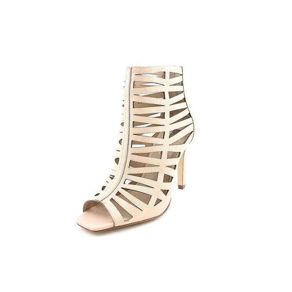 INC International Concepts Kyl Women  Open Toe Leather Nude Sandals