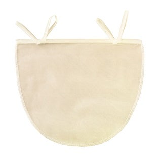 """Link to Beyond Gourmet Unbleached Reusable 11"""" x 9"""" Nut Milk Bag - Almond Pulp Jelly Cheese Strainer - Tan Similar Items in Cooking Essentials"""