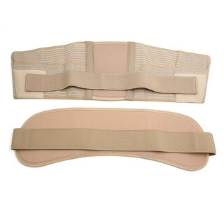 Skin Color Belly Tummy Waist Back Support Belt Wrap Girdle for Maternity Pregnancy - skin color