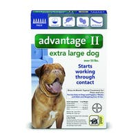 Advantage II for Dogs over 55 Lbs. 6 Pack