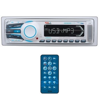 Boss Marine Single Din Mechless MP3 AM/FM Bluetooth