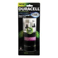 6 ft. Duracell Standard USB to Micro USB Sync & Charge Cable,