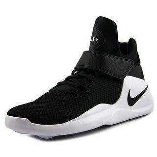 Nike Kwazi Women Round Toe Synthetic Black Sneakers