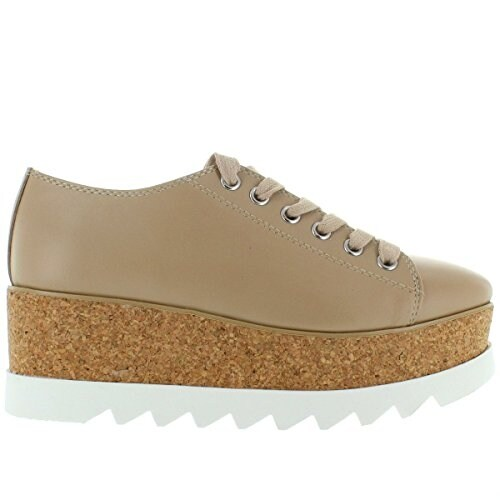 Steve Madden Womens Korrie Leather Low Top Lace Up Fashion Sneakers