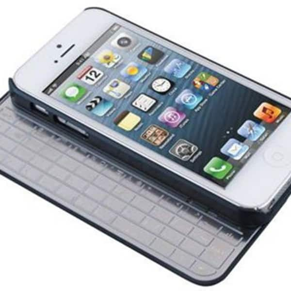 Shop Apple Iphone 5 5s Hard Shell Case Sliding Detachable Aluminum Bluetooth Keyboard Overstock 23087097