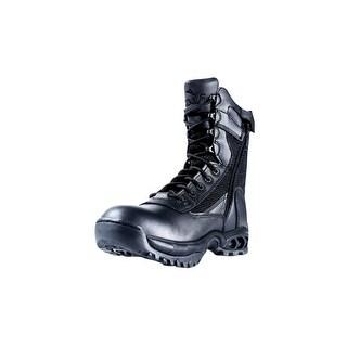 "Ridge Tactical Boots Mens Air-Tac Mesh 8"" Shaft Black 8055Z"