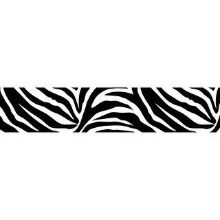 "Brewster TWPS99052  6-1/2"" x 192"" - Go Wild Stripe - Self-Adhesive Repositionable Vinyl Wall Decal - Set of 2"