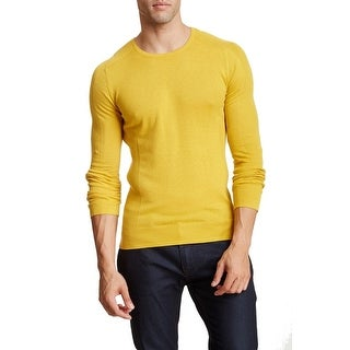I. Am Sportswear NEW Yellow Mens Size 2XL Pullover Crewneck Sweater
