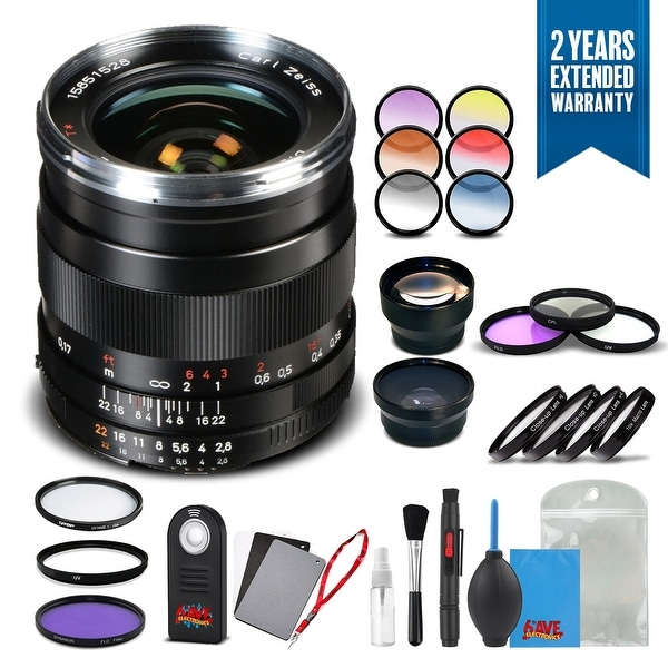 Shop Zeiss Distagon T* 25mm f/2 8 ZF 2 Lens for Nikon - 1796-379