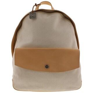 Skagen Womens Aften Backpack Leather Colorblock