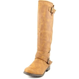 Material Girl Ludlow Round Toe Synthetic Knee High Boot