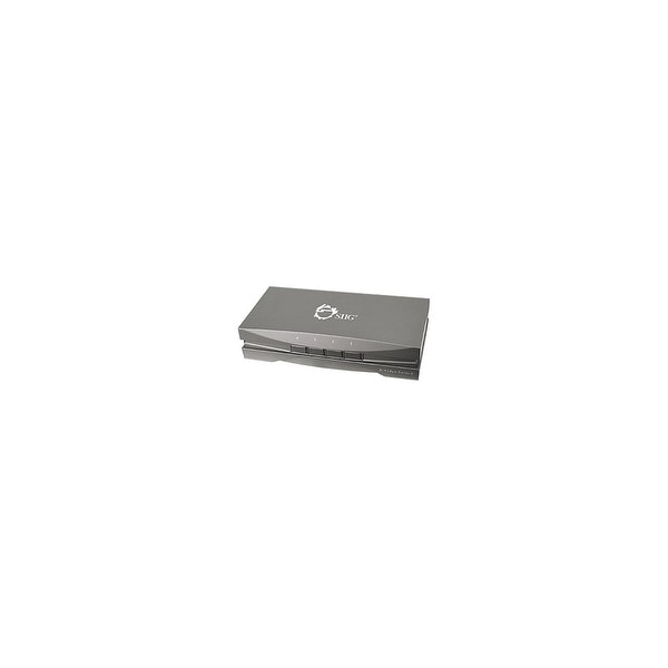 SIIG CE-CM0211-S1 SIIG Video Switch - 4 x 1S-Video In - S-Video Out