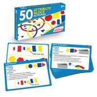 Junior Learning JRL323 50 Attribute Block Activities