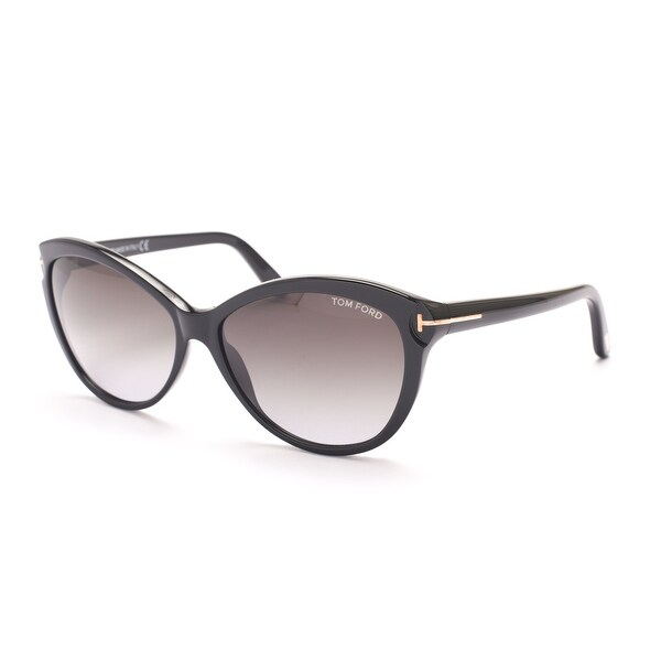 ca58ba5fab9a Shop Tom Ford Women s Telma Sunglasses Black - Small - Free Shipping Today  - Overstock - 13405196