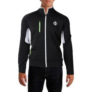 Polo Ralph Lauren Mens Track Jacket Panel Long Sleeves - L