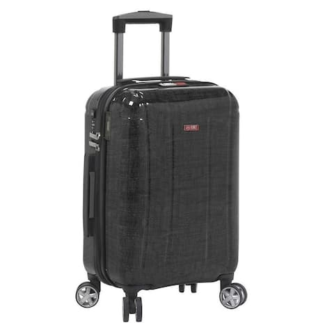 Planet Traveler USA Smart Tech Case Hardside Spinner Carry-On