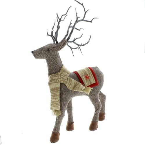 Herringbone Scarf Deer