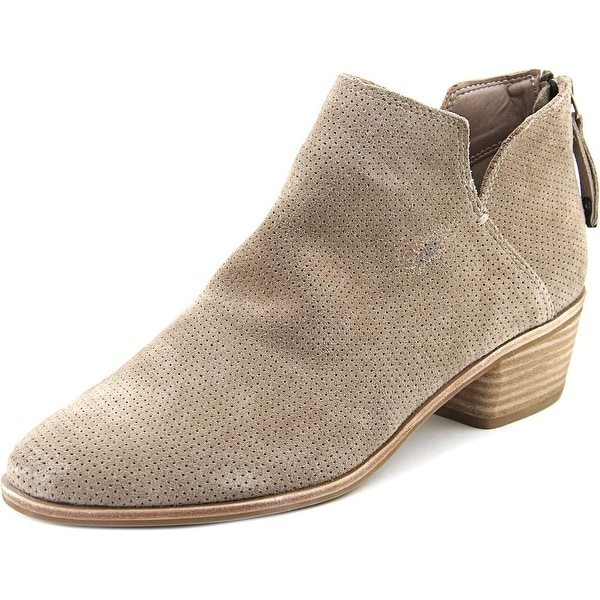 Dolce Vita Karsen Women Pointed Toe Synthetic Tan Bootie