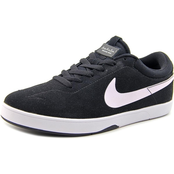 Nike Zoom Eric Koston Men Round Toe Suede Black Sneakers