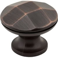 "Elements 423  Drake 1-3/16"" Diameter Mushroom Cabinet Knob"