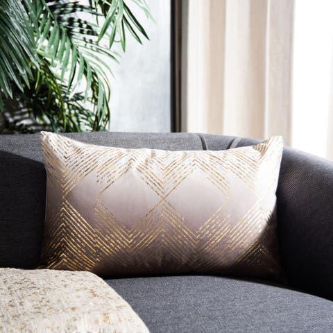 SAFAVIEH Sarla Art Deco Decorative Throw Pillow