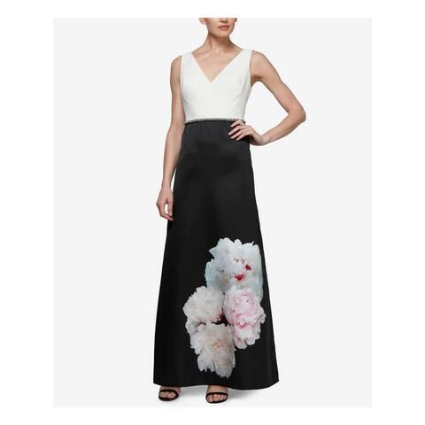 SLNY Black Sleeveless Maxi Dress Size 16