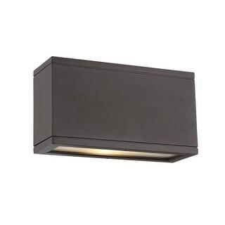WAC Lighting WS-W2510 Rubix 1 Light 3000K High Output LED Outdoor Wall Sconce