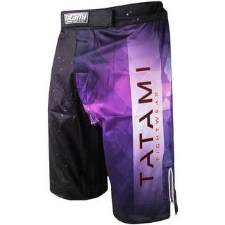 Tatami Fightwear Horizon MMA Fight Shorts - Black/Purple|https://ak1.ostkcdn.com/images/products/is/images/direct/fc344d2b102c7c984bce1a7b386a1e999ceeb11f/Tatami-Fightwear-Horizon-MMA-Fight-Shorts---Black-Purple.jpg?impolicy=medium