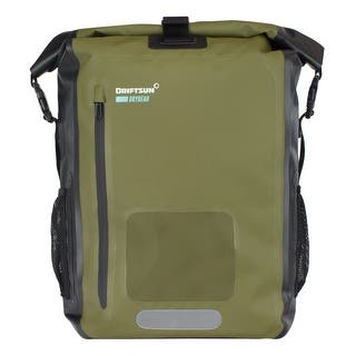 Driftsun Dry Gear Roll-Top Waterproof Backpack 20L and 40L Padded Shoulder Straps, Laptop Sleeve, Front Pocket, 100 Waterpr|https://ak1.ostkcdn.com/images/products/is/images/direct/fc34c87b62f4e6d460a0bd00856bdd676a430987/Driftsun-Dry-Gear-Roll-Top-Waterproof-Backpack-%7C-20L-and-40L-%7C-Padded-Shoulder-Straps%2C-Laptop-Sleeve%2C-Front-Pocket%2C-100%25-Waterpr.jpg?impolicy=medium