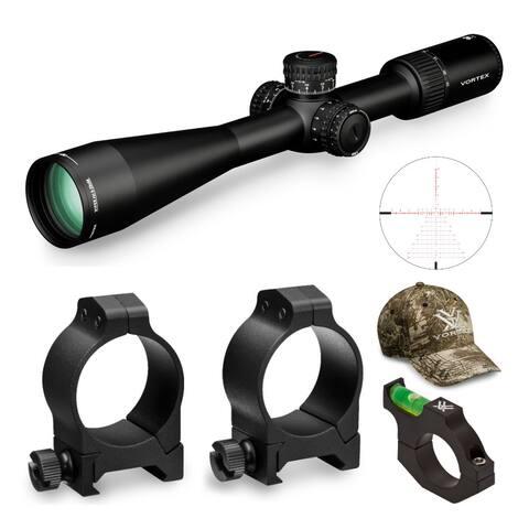Vortex Viper PST Gen II 5-25x50 FFP Riflescope (EBR-7C MRAD) Bundle